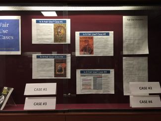 Fair Use Week 2017 Cases display